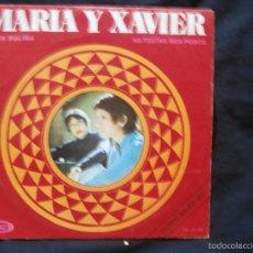 Discos de vinilo: MARIA E XAVIER - MIÑA RULIÑA / AS FESTAS NOS POBOS - GALEGO - MOVIEPLAY 1971. Lote 58118682