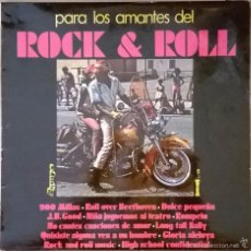 Discos de vinilo: PARA LOS AMANTES DEL ROCK & ROLL, OLYMPO-L-318. Lote 194983263