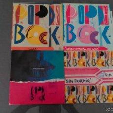 Discos de vinilo: LOTE DE 4 SINGLES DE POP DE BLOCK. Lote 58119178