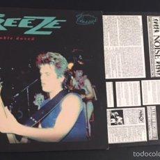 Discos de vinilo: DISCO LP VINILO THE FREEZE DOUBLE DOSED PUNK ROCK BOSTON HARDCORE. Lote 58125187
