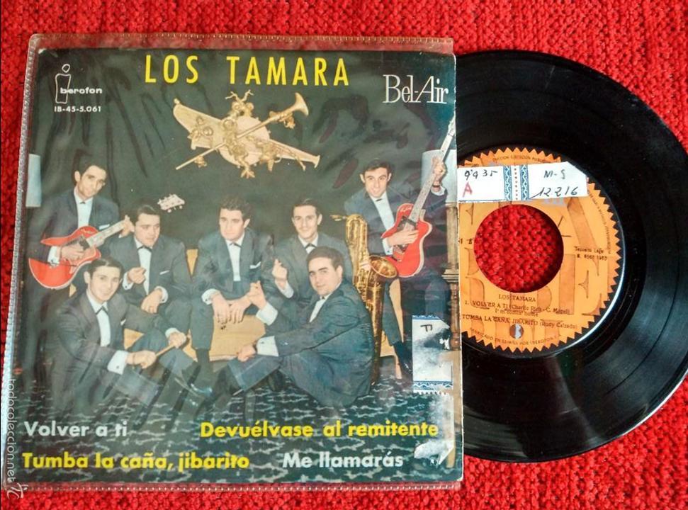 LOS TAMARA EP VOLVER A TI+ 3 TEMAS 1963 (Música - Discos de Vinilo - EPs - Grupos Españoles 50 y 60)