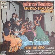 Discos de vinilo: MANOLO SANLUCAR - SABICAS, GUITARRAS FLAMENCAS -DOBLE LP, VINILOS IMPECAB. Lote 58134964