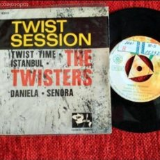 Discos de vinilo: THE TWISTERS EP TWIST SESSION 4 TEMAS. Lote 58135360