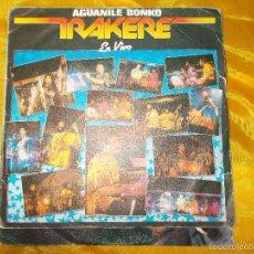 Discos de vinilo: IRAKERE. AGUANILE BONKO / IYA. DISCO PROMOCIONAL. MOVIEPLAY 1982. VINILO IMPECABLE. Lote 58136622