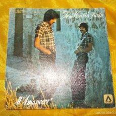 Discos de vinilo: JOSE MARIA PURON. AL AMANECER / AMOR SECRETO. AMBAR 1978. IMPECABLE. Lote 58136689
