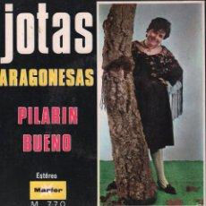 Dischi in vinile: JOTAS ARAGONESAS-PILARIN BUENO/EL DIA QUE OTRO MURIO/ REZANDO LE PROMETI...EP MARFER DE 1968, RF-914. Lote 58140522