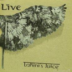 Discos de vinilo: LIVE-LAKINI´S JUICE MAXI SINGLE VINILO TRANSPARENTE 1997 (10 PULGADAS) CON PORTADA DOBLE (EU). Lote 58143732