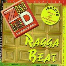 Discos de vinilo: ZONA DE BAILE LO MEJOR DE REGGA BEAT-SNOW + INNER CIRCLE + LATIN PRINCE + TZABOO + RED FOX + . Lote 58143842