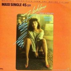 Discos de vinilo: BSO FLASHDANCE (IRENE CARA) MAXI SINGLE VINILO 1983 SPAIN. Lote 58143899