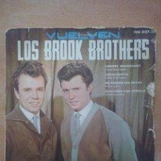 Discos de vinilo - los brook brothers- siempre enamorado +3- ep hispavox 1962 - 58145738