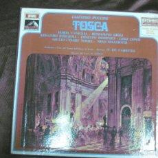 Discos de vinilo: TOSCA. PUCCINI. MARIA CANIGLIA. BENJAMINO GIGLI. EMI J 153-00.667/8. 2 LP'S + LIBRETO.. Lote 58145826