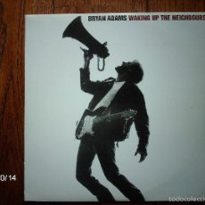 Discos de vinilo: BRYAN ADAMS - WAKING UP THE NEIGHBOURS. Lote 58147611