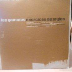 Discos de vinilo: LES GAMMAS - EXERCICES DE STYLES. 2 LPS. Lote 58151336