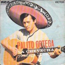 Discos de vinilo: PALITO ORTEGA - LA CHEVECHA / YO TENGO LA CULPA - RCA VICTOR - 1968. Lote 58159234