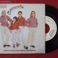 Discos de vinilo: ACUARELA, BUENOS DIAS BUENA GENTE + TEMA DE LOS OSOS AMOROSOS (MOD AUDIOVIS) SINGLE PROMOCIONAL. Lote 58159659