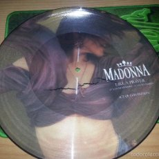 Discos de vinilo: MADONNA LIKE A PRAYER 12 MAXI- PICTURE DISC-UK. Lote 58159737
