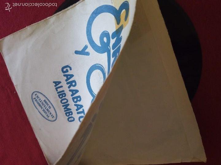 Discos de vinilo: ENRIQUE Y ANA, GARABATOS + ALIBOMBO (HISPAVOX) SINGLE PROMOCIONAL - RAFAEL TRABUCCHELLI - Foto 3 - 58159882