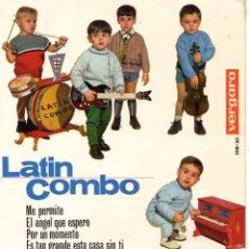 Discos de vinilo: LATIN COMBO, EP, ME PERMITE + 3, AÑO 1964. Lote 58160027