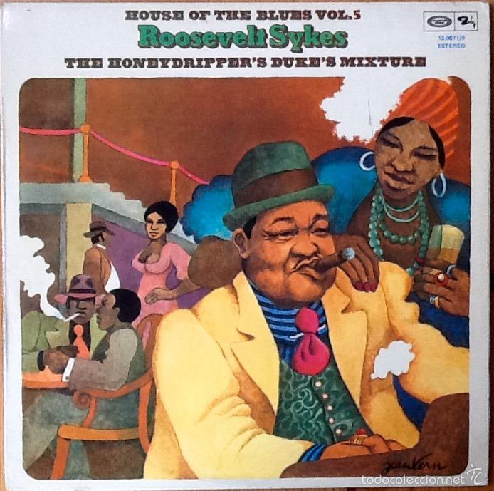 ROOSEVELT SYKES : THE HONEYDRIPPERS DUKE'S MIXTURE [ESP 1975] LP (Música - Discos - LP Vinilo - Jazz, Jazz-Rock, Blues y R&B)