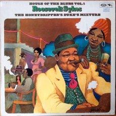 Discos de vinilo: ROOSEVELT SYKES : THE HONEYDRIPPERS DUKE'S MIXTURE [ESP 1975] LP. Lote 55862727