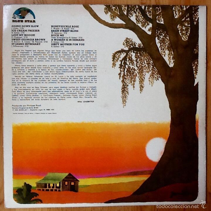Discos de vinilo: ROOSEVELT SYKES : THE HONEYDRIPPERS DUKE'S MIXTURE [ESP 1975] LP - Foto 2 - 55862727
