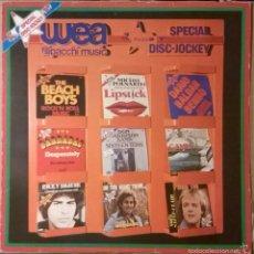 Discos de vinilo: SPECIAL DISC-JOCKEY, WEA-PRO 1003. Lote 58161066