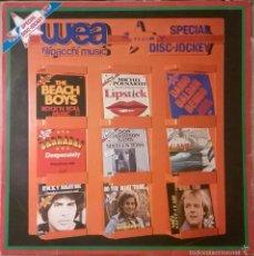 Discos de vinilo: SPECIAL DISC-JOCKEY, WEA-PRO 1003. Lote 58161078