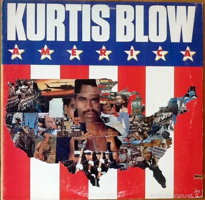 KURTIS BLOW : AMERICA [USA 1985] LP/1ST EDITION (Música - Discos - LP Vinilo - Rap / Hip Hop)