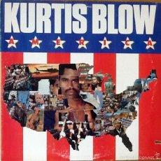 Discos de vinilo: KURTIS BLOW : AMERICA [USA 1985]. Lote 140124565