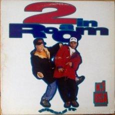Discos de vinilo: 2 IN A ROOM : WIGGLE IT [ESP 1990] LP. Lote 55223948