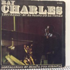 Discos de vinilo: RAY CHARLES YESTERDAY + 1 SINGLE HISPAVOX 1967 @ SOUL @ COMO NUEVO. Lote 58168991