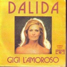 Discos de vinilo: DALIDA .. SINGLE. Lote 58185441
