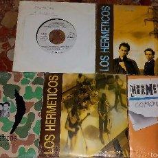Discos de vinilo: LOTE DE 5 SINGLES DE LOS HERMETICOS. Lote 58190522