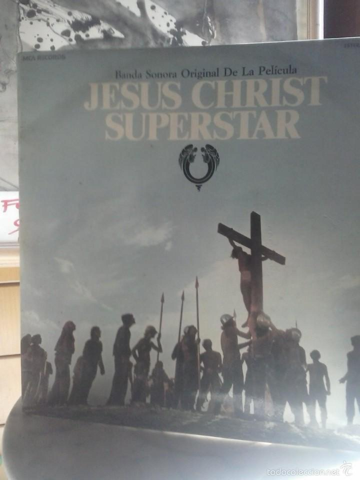 JESUS CHRIST SUPERSTAR . (Música - Discos - LP Vinilo - Pop - Rock Extranjero de los 50 y 60)