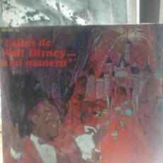 Discos de vinilo: EXITOS DE WALT DISNEY - LOUIS ARMSTRONG .. Lote 58195949