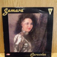 Discos de vinilo: SAMARA. CARACOLES. LP / JAZMÍN - 1992 / MBC. ***/***. Lote 58197497