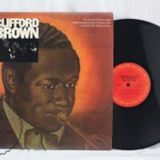 Discos de vinilo: DISCO LP VINILO DE JAZZ - CLIFFORD BROWN. THE BEGINNING AND THE END - CBS, 1973. Lote 58198197