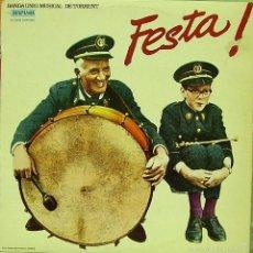 Discos de vinilo: BANDA UNIO MUSICAL DE TORRENT-FESTA LP VINILO 1979 SPAIN. Lote 58198513