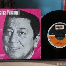 Discos de vinilo: ATAHUALPA YUPANQUI- TRABAJO, QUIERO TRABAJO. DISCO PROMO STARLUX. Lote 58198877