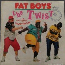 Discos de vinilo: FAT BOYS THE TWIST . Lote 58204802