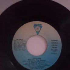 Discos de vinilo: TRILLION - STEP BY STEP - VERSION NORMAL E INSTRUMENTAL - AÑO 1985 - DIANA. Lote 58205791