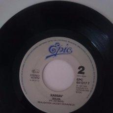 Discos de vinilo: KASSAV - SYE BWA - SOLEIL - AÑO 1987 - EPIC -REFM1E4BOES47DISIN. Lote 58205935