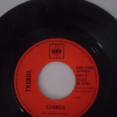 Discos de vinilo: TREBOL - CARMEN - POR EL CAMINITO - AÑO 1971 - CBS. Lote 58207438
