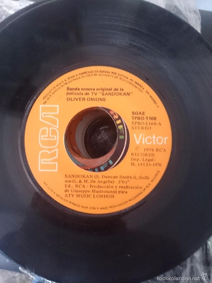 B.S.O PELUCULA SANDOKAN - SANDOKAN - SWEET LADY BLUE - AÑO 1975 - RCA-VICTOR (Música - Discos - Singles Vinilo - Bandas Sonoras y Actores)