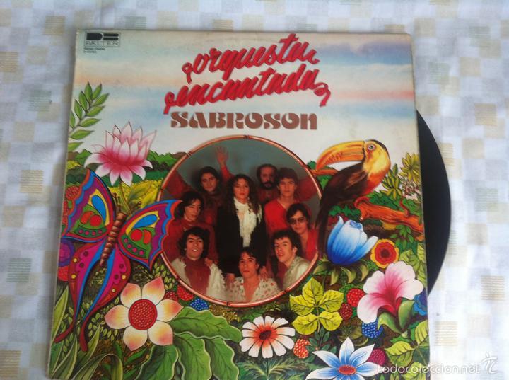 LP ORQUESTA ENCANTADA-SABROSON (Música - Discos - LP Vinilo - Solistas Españoles de los 70 a la actualidad)
