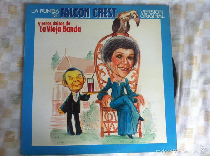 LP LA VIEJA BANDA-LA RUMBA DE FALCON CREST (Música - Discos - LP Vinilo - Solistas Españoles de los 70 a la actualidad)