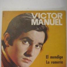 Discos de vinilo: VICTOR MANUEL LA ROMERIA BELTER NUEVO 1969. Lote 58215566