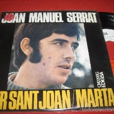 Discos de vinilo: SERRAT PER SANT JOAN, MARTA CASI SIN USAR. Lote 58215668