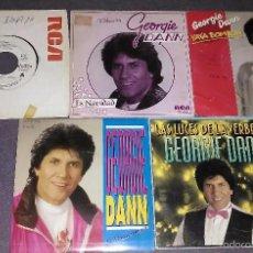 Discos de vinilo: LOTE 5 SINGLES DE GEORGIE DANN. Lote 58218600
