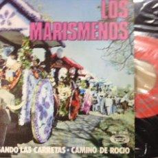 Discos de vinilo: LOS MARISMEÑOS -VAN LLEGANDO LAS CARRETAS -SINGLE 1971 -IMPECABLE. Lote 58223088